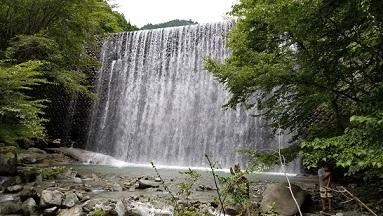 ウェルキャンプ西丹沢 滝